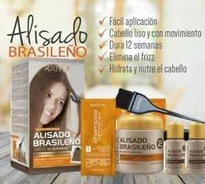 KATIVA BRAZILIAN STRAIGHTENING ALISADO BRASILEÑO KIT, UP TO 10 WEEKS US SELLER
