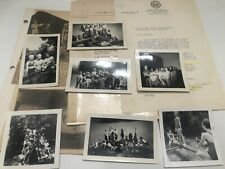 VINTAGE GIRL SCOUTS West Virginia Photos, Letter From Governor, Newspaper