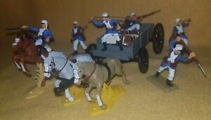 wagon set FRENCH FOREIGN LEGION light blue uniform Argentina Soldiers Britains