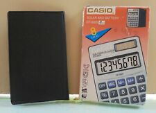 Casio Dt-3000 Vtg Calculator Solar & Battery New With Box