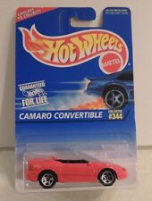 "Hot Wheels CAMARO CONVERTIBLE ""India Casting"" 1997 First Editions #344***MOC***"