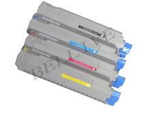 KIT 4 Toner Compatibile per OKI C910 C920WT 44036021  44036022 44036023 44036024