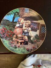 M J Hummel Little Companions Danbury Mint Collector Plate Squeeky Clean