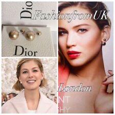 Dior Pearl Costume Earrings