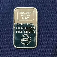 Golden State Mint Silver Art Bar E6601