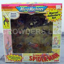 Micro Machines Marvel Collector's Set Super Hero Vehicles Amazing SpiderMan XMen
