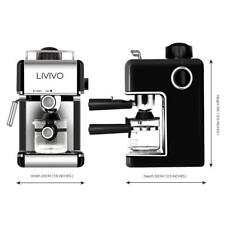 LIVIVO Professional Espresso Cappuccino Coffee Maker Machine with Milk Frothing