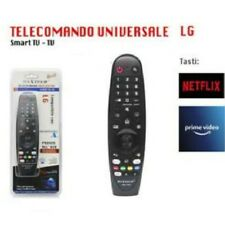 TELECOMANDO UNIVERSALE COMPATIBILE LG PER SMART TV CON TASTO NETFLIX PRIME VIDEO