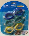 Water Sun  Fun Swim Goggles Polycarbonate lens w/UV Protection 3 pack Youth 4