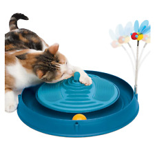 Catit Circuit Ball Cat Toy with Massager 3 in 1