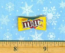 Dollhouse Miniature Size Chocolate & Peanut Candy Bag 1 inch long