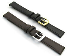 CONDOR Flat Calf Leather Watch Strap 123R 8mm 10mm 12mm 14mm Free Pins