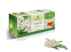 Yarrow Natural Premium Tea Achillea Millefolium 25 Teabags