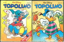 Lotto 13 fumetti TOPOLINO dal 2012 al 2183 in buone condizioni, come da immagini