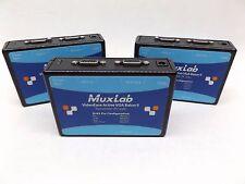 LOT OF 3 MUXLAB 500141 ACTIVE VGA BALUN 11, TX TRANSMITTER (PC SIDE)