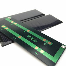 10Pcs 90*30mm 5.5V DIY Photovoltaic Solar Cell For Mobile Phone Battery Charger