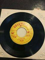 Columbia Records Vinyl 45 LP I saw Mommy Kissing Santa Clause Thumbelina