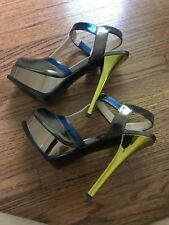 Fendi designer shoes platform stiletto  worn once perfect condition
