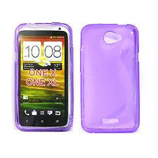HTC One X Soft Gel Case - Purple