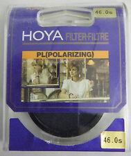 PRL) HOYA FILTRO FILTRE FILTER FILTAR FILTRU 46 mm POLARIZZATORE PL POLARISER