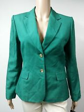 NEW - Tahari - Size 10 - Jacket Two-Button Blazer - Green FAST to AUS / UK $129