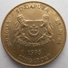 Singapur 5 centavos 1995