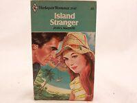 GOOD! 1977 Island Stranger by Jean S. MacLeod. Harlequin Romance. Z-1