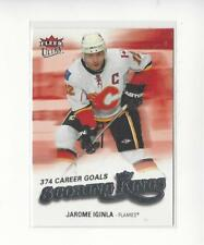 2008-09 Ultra Scoring Kings #SK4 Jarome Iginla Flames
