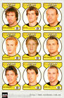 2005 Select AFL Dynasty Face Die Cut Team Set (11)--Richmond