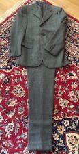 Loro Piana LUXURY Mens Suit Grey 100% New Zealand Merino Wool Sz 48 TOP!!!