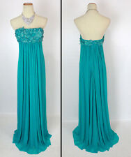 New Genuine Jovani 25326 Teal Evening Homecoming Women Dress Prom Party 0
