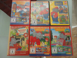 6 DVD Benjamin Blümchen