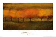 FARM COUNTRY LANDSCAPE ART PRINT 13x19 Poster Al's Tree by Dawne Polis