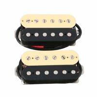 2pcs Alnico 5 Magnet Double Coil Neck & Bridge Electric Guitar Humbucker Pickup