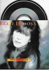 ELKIE BROOKS - The last teardrop CD SINGLE 3TR DUTCH CARDSLEEVE 1991 (DURECO)