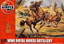 Airfix Soldats Britannique Royal Chevaux Artillerie WWI 1:72 Kit