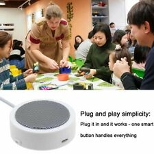 Portable Round 8Pin Conference Speaker For iPhone XS XR X 8 7 6 Plus iPad iPod