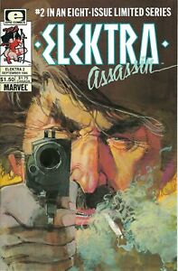 $2 Bargains - Elektra Assassin #2 VF, #3 FN (Epic Comics, 1986) Frank Miller