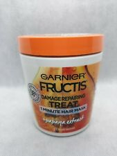Garnier Fructis Damage Repairing Treat 1 Minute Hair Mask Papaya Extract 13.5 oz