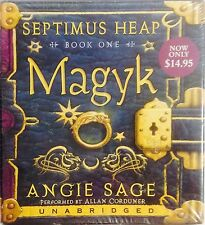 Brand New ~ Audiobook 1 [SEPTIMUS HEAP] [MAGYK] ANGIE SAGE