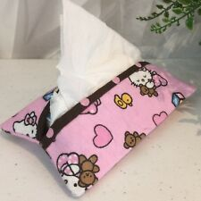 Hello Kitty Pocket Kleenex Tissue Holder Teacher Gift Fabric Lined