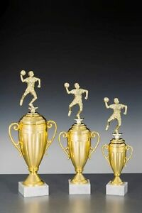 3er-Serie Große Handball-Pokale mit Wunschgravur (81-38299-3)