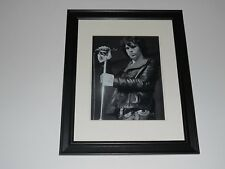 "Jim Morrison Live in 1968 Leather Pants and Jacket Framed Print 14""x17"""