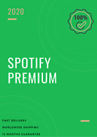 Spotify Premium 🎵 Fast Delivery 🔥 12-Month Warranty [350+ SOLD]
