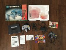 Nintendo 64 N64 System Console w/ Box Tested MINT with EXTRAS Mario Zelda Star