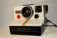 Polaroid Rainbow OneStep SX-70 fixed focus,gremlin uses impossible film, tested