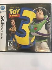 Toy Story 3 (Nintendo DS, 2010) Complete Case, Game, Book. Tested Free Shipping