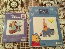 Disney Pooh Cross Stitch Kits Stacked Pooh & Let The Dreams Begin Tigger, Eeyore