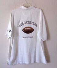 NWT Tommy Bahama S/S Silk Button Up Shirt, NFL Baltimore Ravens Tailgate Sz XL