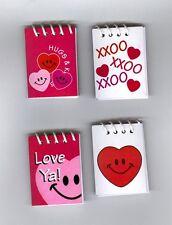 Valetine mini note books! Great party idea! Little but fun!